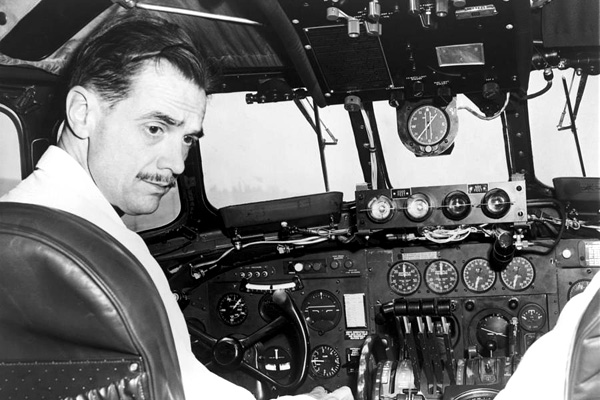 Howard Hughes purchases Trans World Airlines