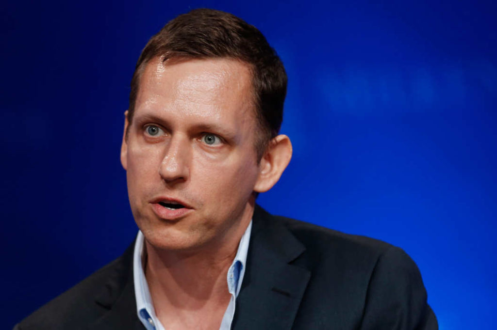 Peter Thiel gets into Facebook, early