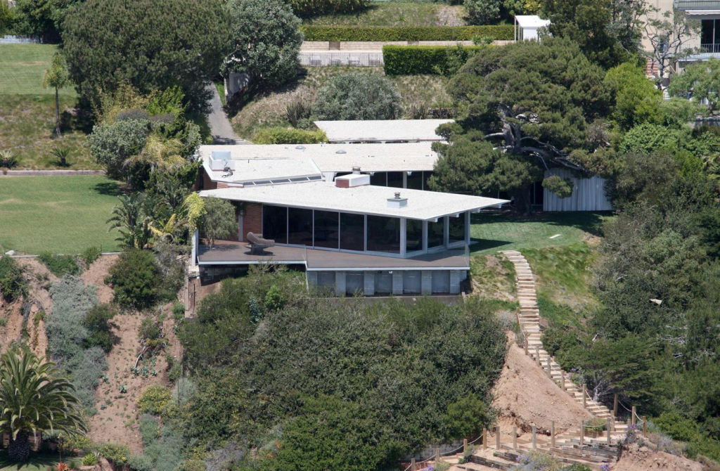 FILE: Brad Pitt has quietly put his Malibu Encinal bluff estate on the market for a whopping $13.75 million