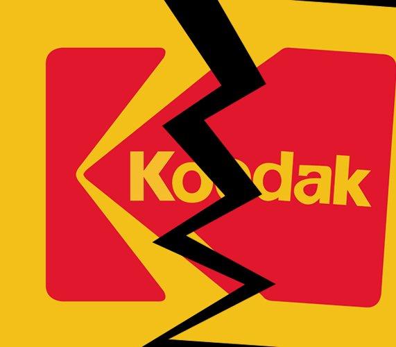 Kodak sits on the digital camera