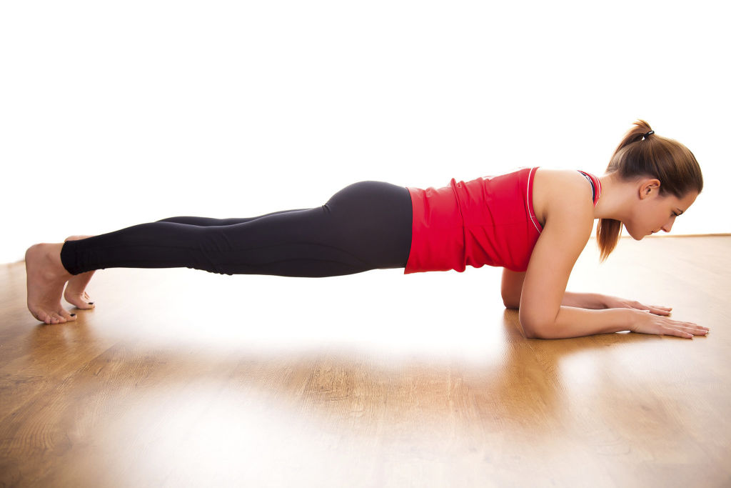 Learn to plank!
