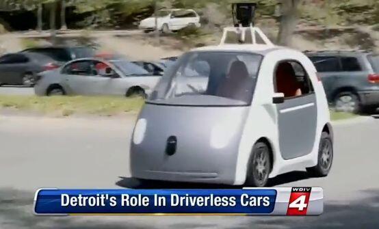 Google Car is being built in Detroit