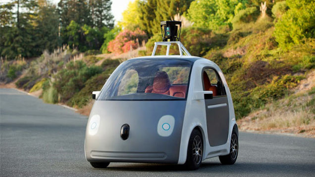 The Google Car tops out at 25 MPH