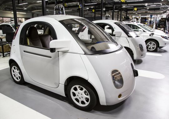The Google Car was built with automated driving in mind, not adapted