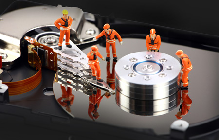 Check the mechanical components of your HDD