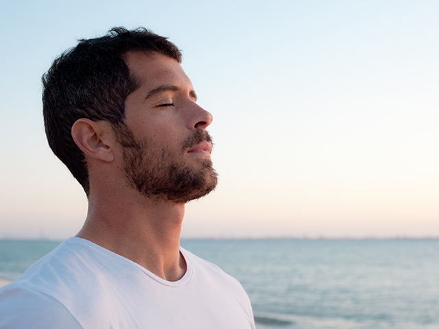 Learn deep breathing techniques