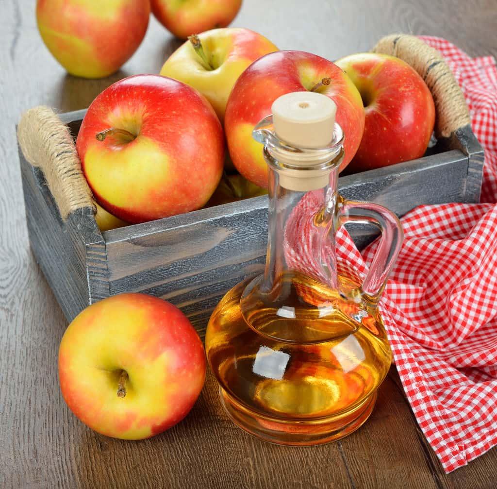 Keep apple cider vinegar in your cupboard.