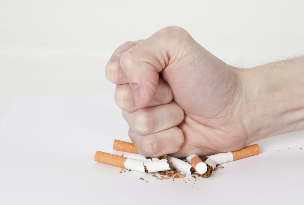Quit smoking or never start