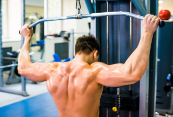Behind Head Lat Pulldowns