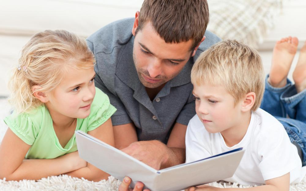Begin reading to your child as soon and often as possible