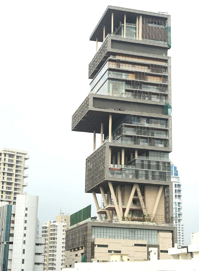 The Antillia Mumbai House