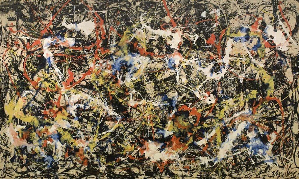 Jackson Pollocks Painting