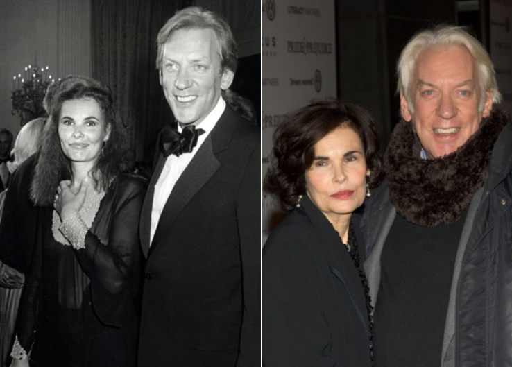 Donald-Sutherland-and-Francine-Racette
