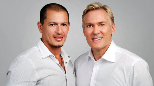 Sam Champion and Rubem Robierb