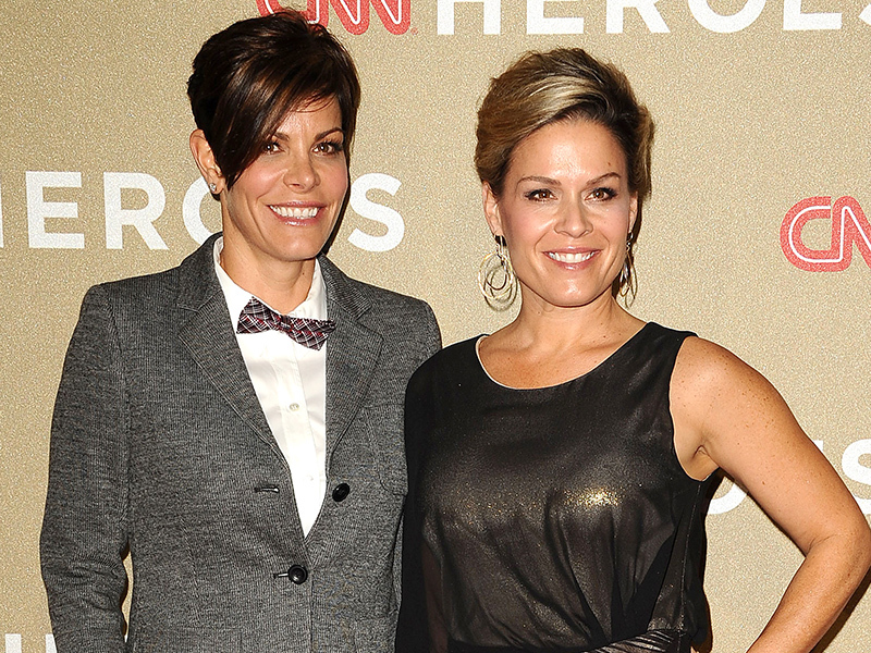 Cat Cora and Jennifer Cora