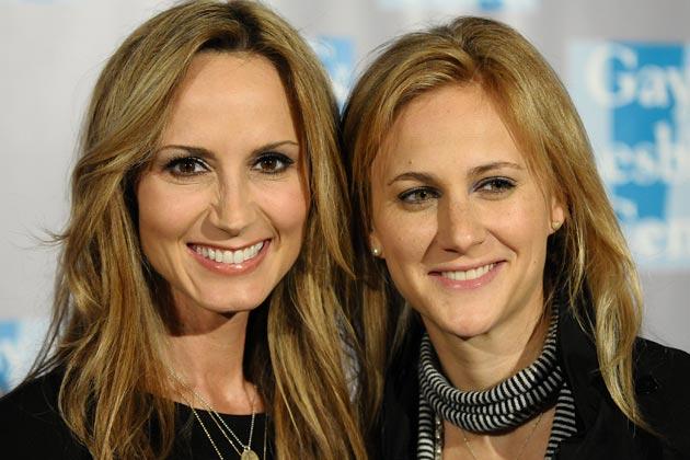 Chely Wright & Lauren Blitzer
