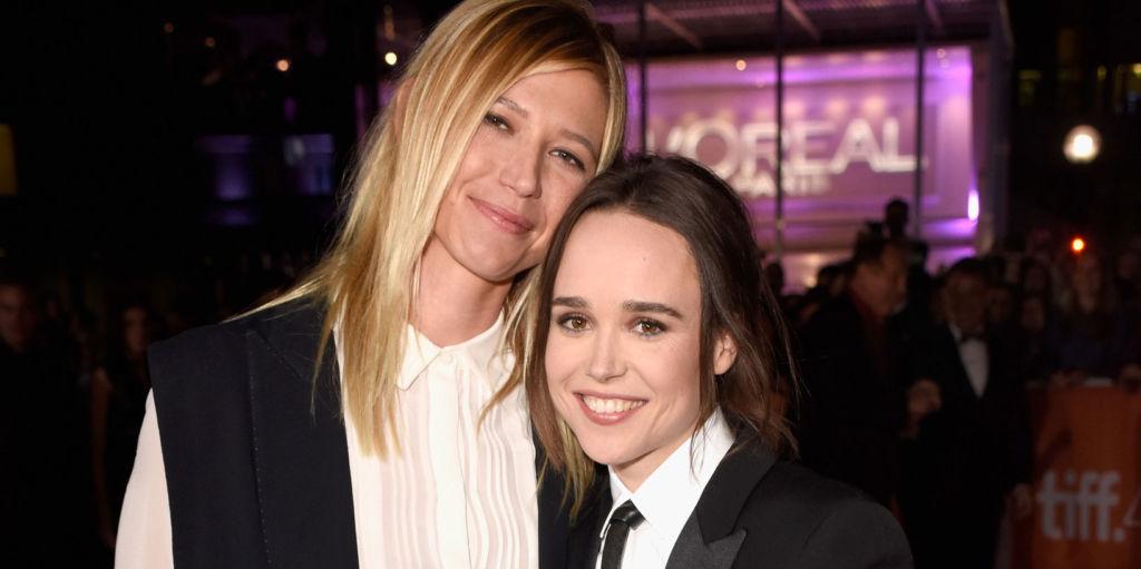 Ellen Page & Samantha Thomas