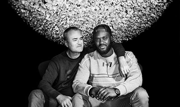 Nick Denton and Derrence Washington