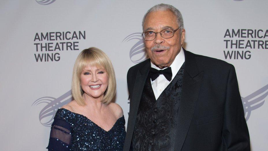 James Earl Jones and Cecilia Hart