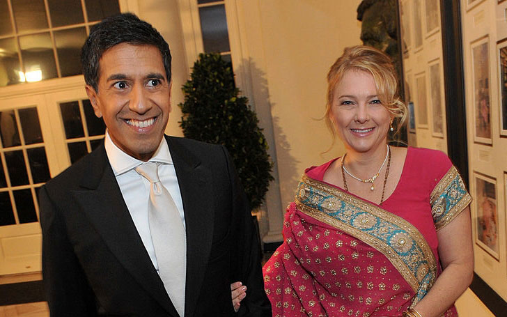Dr. Sanjay Gupta and Rebecca Olson Gupta