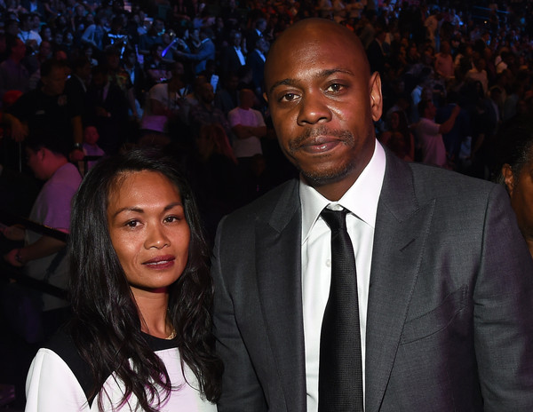 Dave Chappelle and Elaine Mendoza Erfe Chappelle
