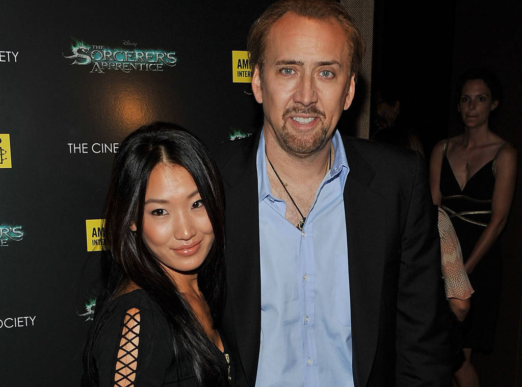 Nicolas Cage and Alice Kim Cage