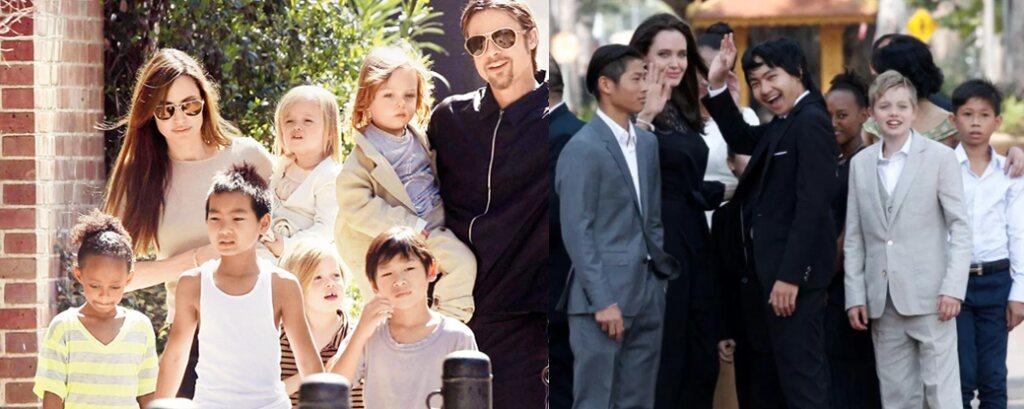 Jolie-Pitt Children