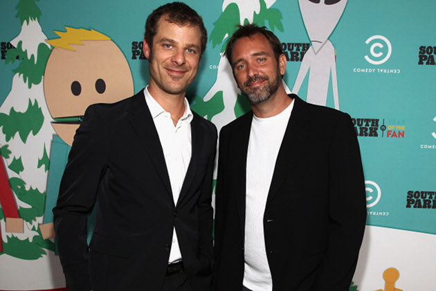 Matt Stone and Trey Parker - $400 million