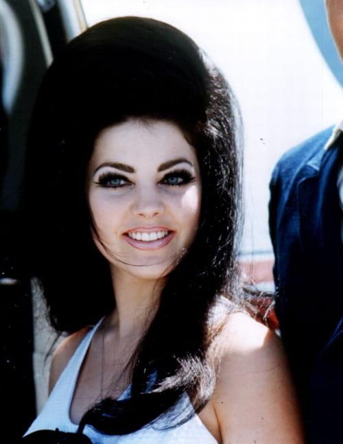 Priscilla Presley's Bouffant