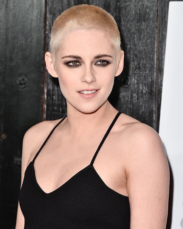 Kristen Stewart's Shaved Head