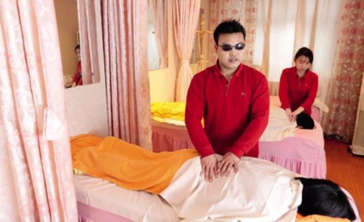 Blind-Massages
