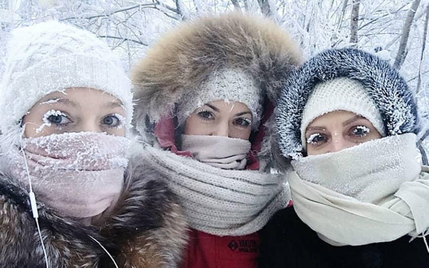 Frozen Eyes In Harbin