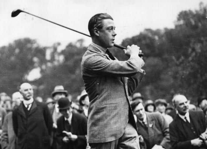 Edward-Golfing