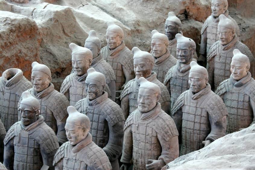 Terracotta-Army-In-Xian