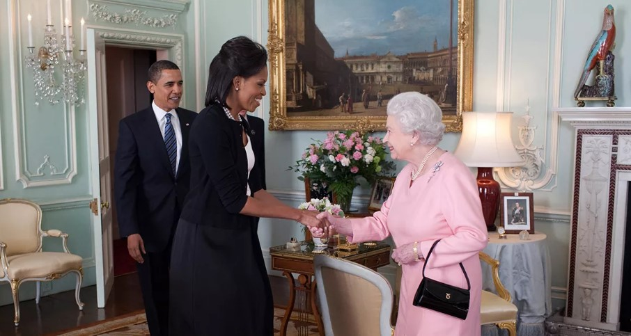 Michelle-Obama-and-The-Queen