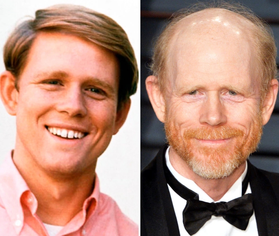 RON HOWARD, 65 YEARS OLD