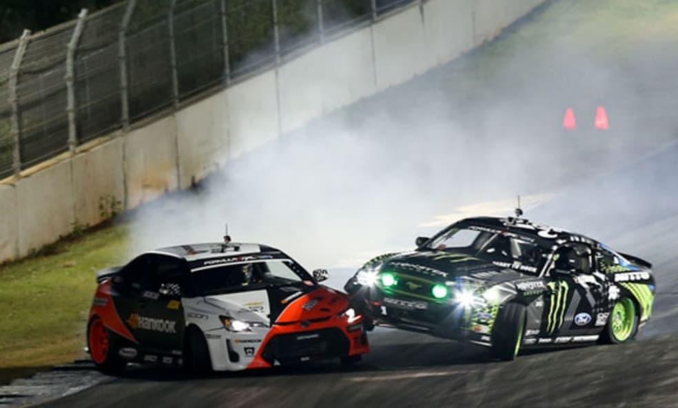 Formula Drift Accident