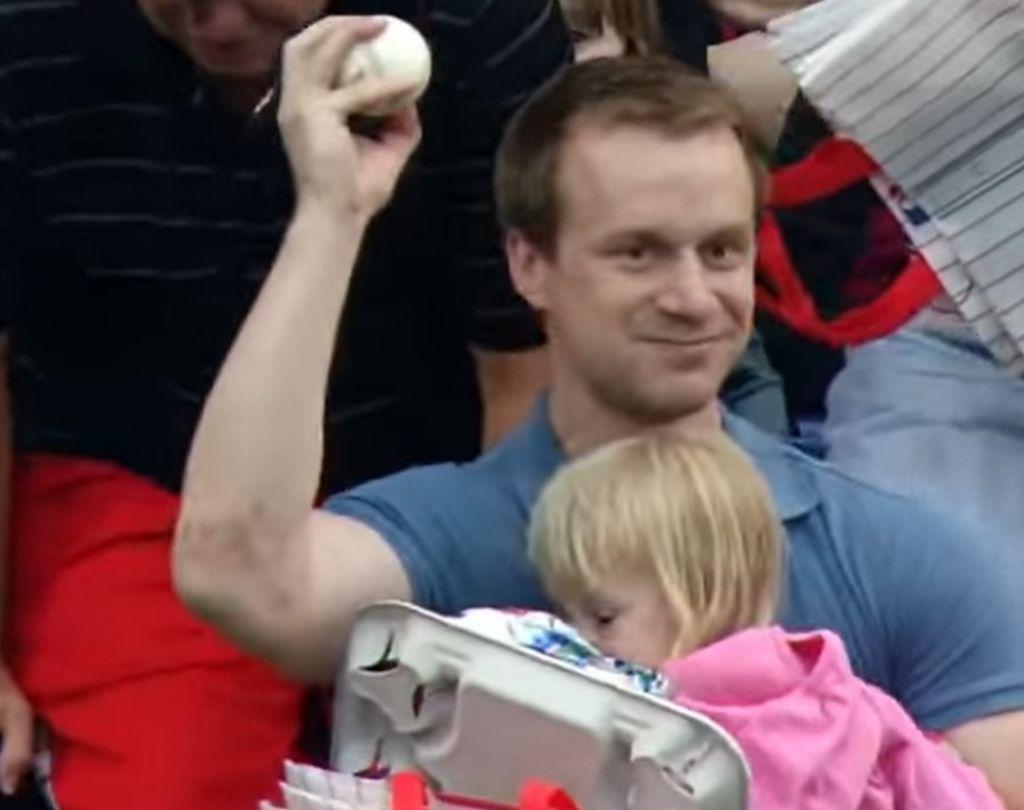 MLB Fan Makes Fantastic Catch