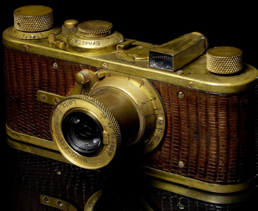 Gold-Plated Luxus II Camera