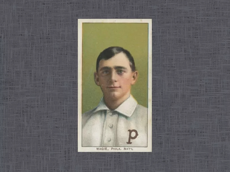 1909 T206 Sherry Magee (Error)