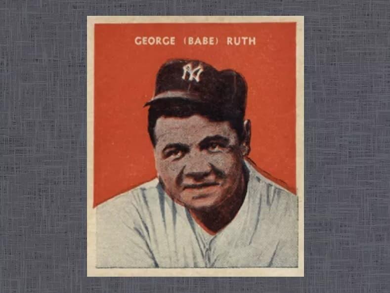 1932 U.S. Caramel Babe Ruth