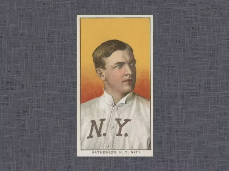 1909 T206 Christy Mathewson