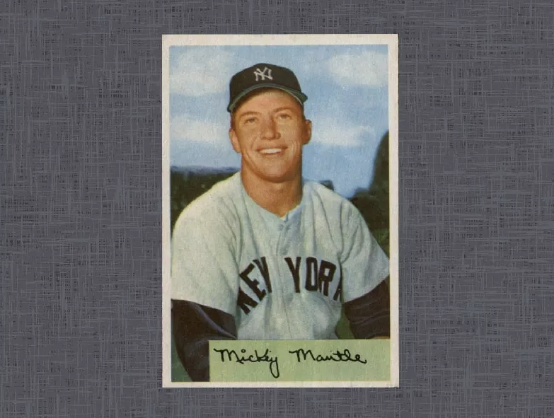 1954 Bowman Mickey Mantle