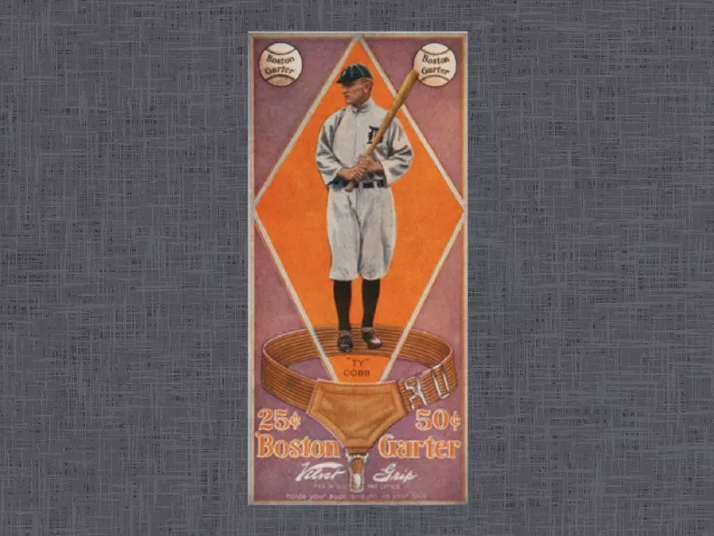 1914 Boston Garter Ty Cobb
