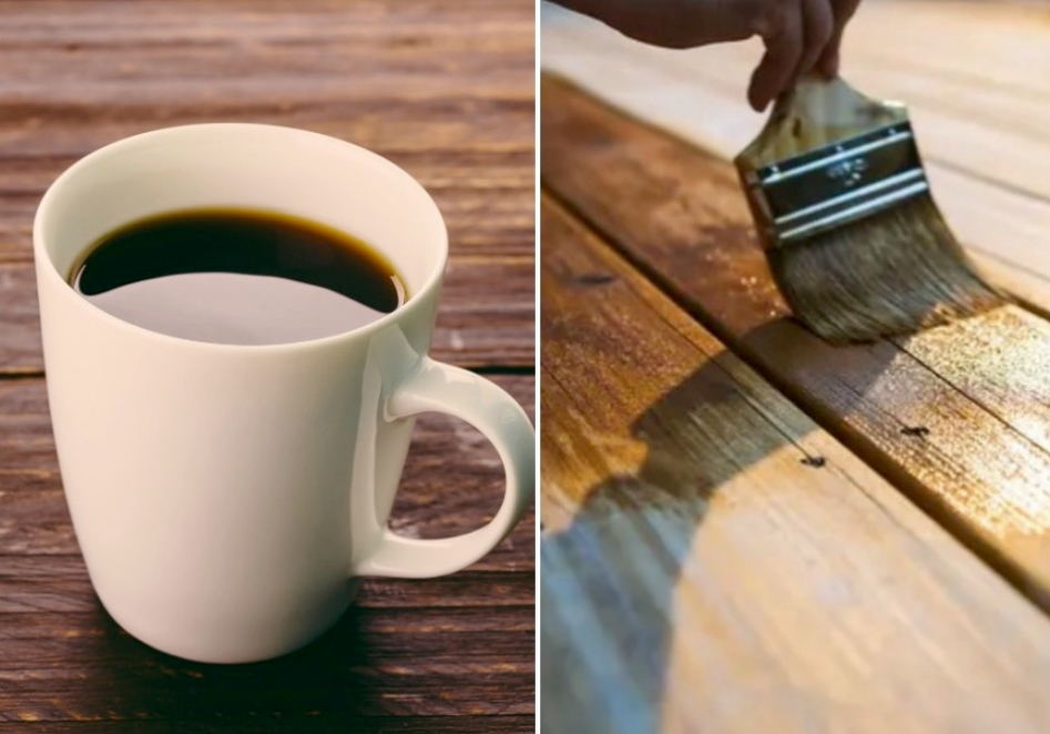Use Coffee To Restore Wood