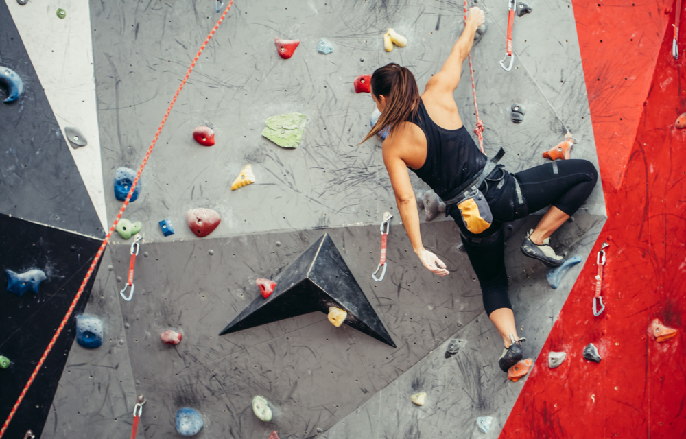 Indoor Rock Climbing: The Perfect Workout To Blow Off Some Steam